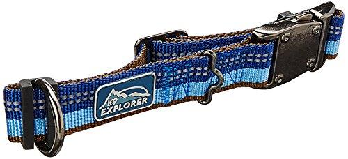 Coastal Pet Products DCP36922SAP K9 Explorer 1-Inch Dog Collar, Medium, Blue