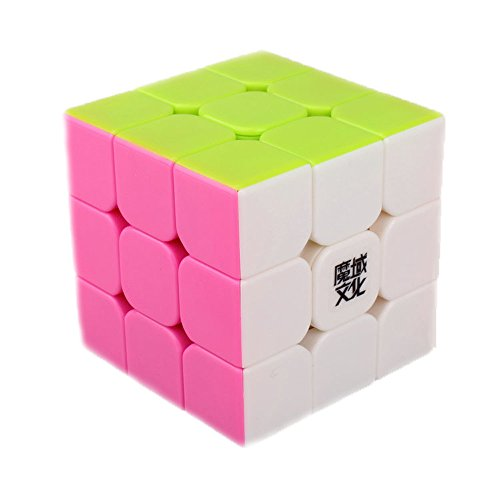 Moyu FBA_YJ8210 Dayan V5 Zhanchi 3X3 57Mm Stickerless Speed Cube New 2015