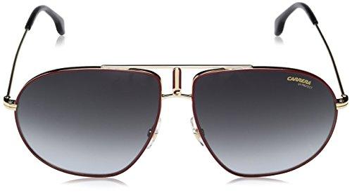 56a3bc0d2 Amazon.com: Carrera Bound Aviator Sunglasses BLACK GOLD 60 mm: Carrera:  Clothing