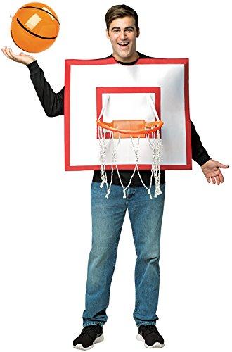 Costume Halloween Basketball (Rasta Imposta Basketball Hoop with)
