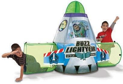 sc 1 st  Amazon.com & Amazon.com: Playhut Toy Story 3 Buzz Rocket Ship: Toys u0026 Games