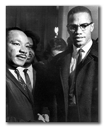 Globe Photos ArtPrints Malcolm X and Martin Luther King - 8