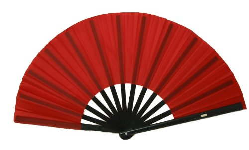 Red Performance Folding Fan, #361