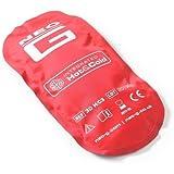 Neo G 3D Hot&Cold 3DH/C3 - Paquete terapéutico caliente y frío en 3D, reutilizable, flexible, doble función, caliente, frío, color Rojo/azul, 1 unidad