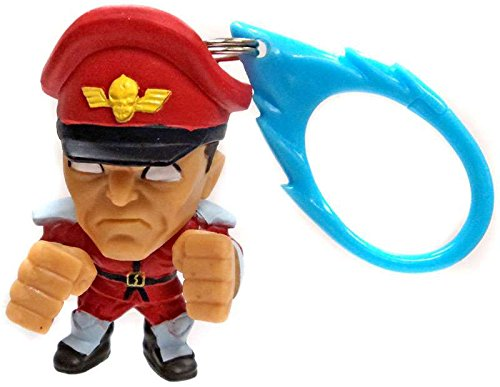 Street Fighter Character Figure Keychain Backpack Hanger M Bison 5