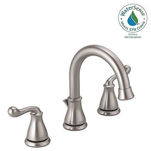Delta Southlake 8 in. Widespread 2-Handle Bathroom Faucet in Brushed Nickel