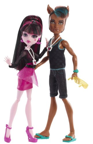 Monster High - Clawd Wolf and Draculaura Music Festival GIFTSET -