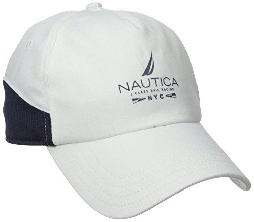 2189697016706 Nautica Men s Stretch Twill Mesh Panel Cap