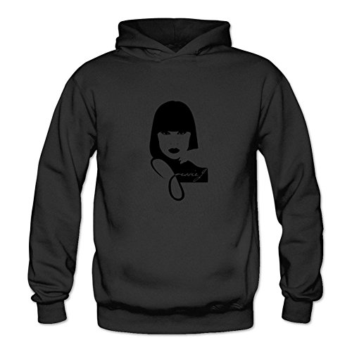 Owiekdmf Womens Jessie J2 Sweatshirt Hoodie M Black