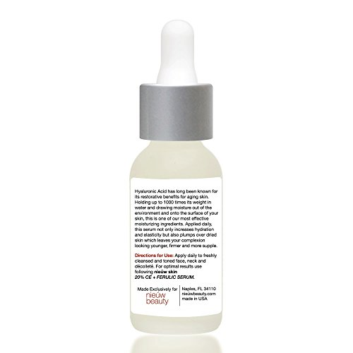 AGELESS-HYALURONIC-SERUM-by-nieuw-beauty-Anti-Aging-Hydrating-Serum-for-Women-and-Men-Botanically-derived-Hyaluronic-Acid-Non-greasy-with-instant-hydration-and-plumping-All-Skin-Types-1oz30ml