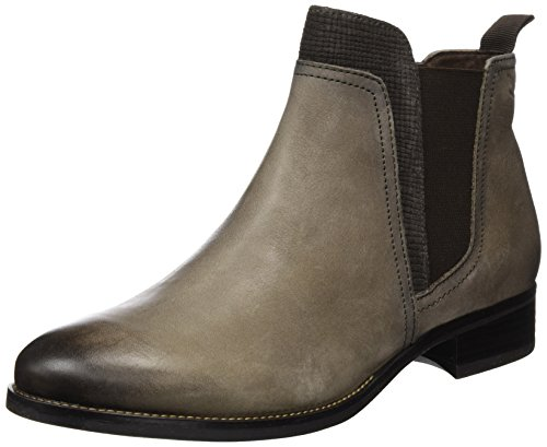Comb 350 Caprice Femme Bottes 25325 taupe Chelsea Marron wZPHqBA