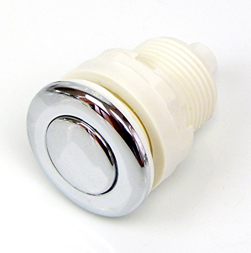 Universal Chrome air push press button / switch for pedicure spa massage chair