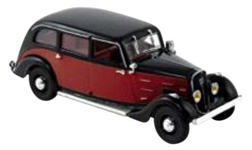 1/43 プジョー401 ロングタクシー(1935) ダークレッド/ブラック 474104