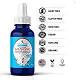 Organic Hemp Extract Oil w/ Coconut Oil for Dogs, Cats & Pets-Fast Pain Relief-Calms Arthritis, Anxiety, Joints-Natural Cancer Supplement-Full Spectrum Hemp Extract-Daily Immune Support-Made in USA!