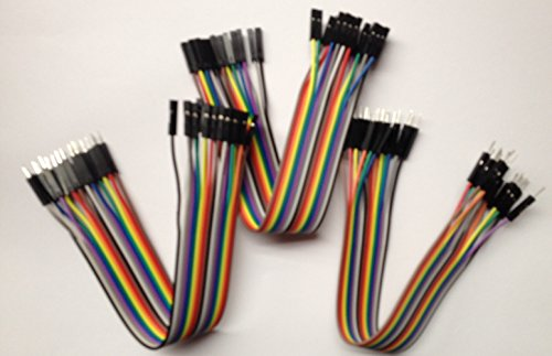 DuPont style Jumper wire cable assemblies 20cm long 2.54 1P-1P Male-Male / Female-Female / Female-Male, 20pcs of each, RBTMKR