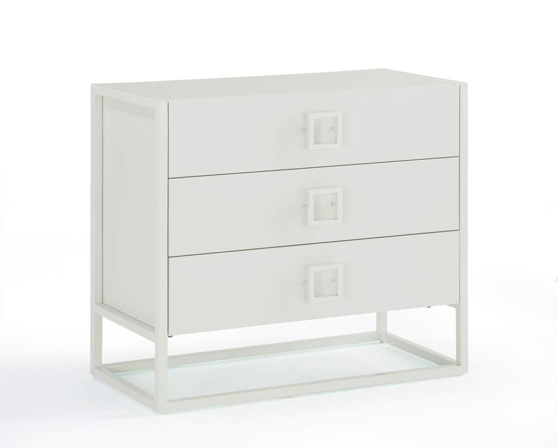 Now House by Jonathan Adler Vally 3- Drawer Dresser, Mint 28294