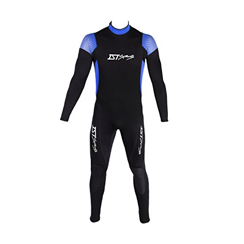 IST 2.5mm Flatlock Stitching Jumpsuit with super-stretch armpit Men L (Mens Wetsuit Ist)