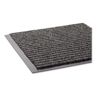 (Needle Rib Wipe & Scrape Mat, Polypropylene, 48 x 72, Gray (3)