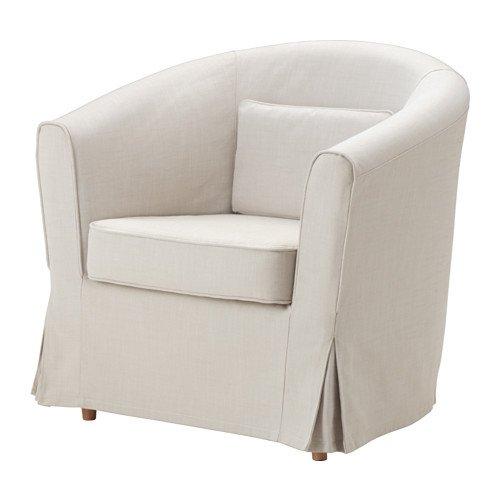 Ikea EKTORP TULLSTA - Slipcover for Armchair Nordvalla Be...