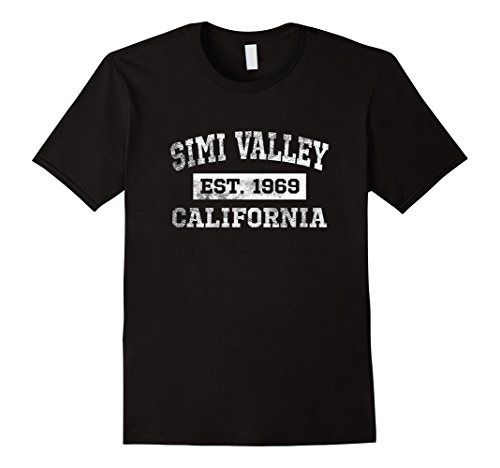 Men's Simi Valley California T Shirt Est. 1969 Distressed XL - Simi Valley