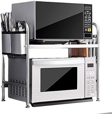 Estante de acero inoxidable para cocina y accesorios de cocina ...