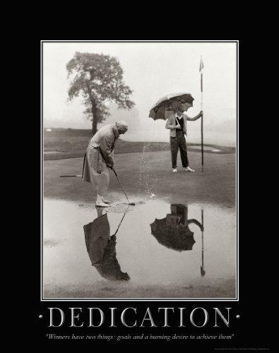 Golf Motivational Picture - Apple Creek Golfing Motivational Poster Art Print 11x14 Vintage Golf Clubs Shoes Balls Driver Bag Wall Decor Pictures