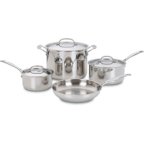 Cuisinart 7 Piece S/S Cookware Set (Cuisinart Cookware 77 compare prices)