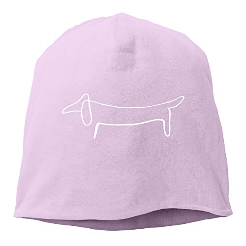Gbhngg Hat Pablo Picasso Dog Baseball Caps Slouchy Beanie Cap Skull Caps Pink