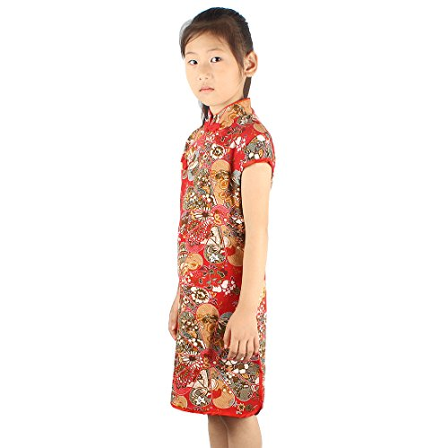 Etqp Rouge Tang In Cheongsam Di Robe Princess Girl Andux 01 Summer Soie x8PWqwznB7
