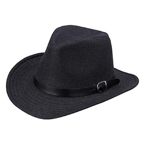 Bestpriceam® Summer Men Straw Hat Cowboy Hat
