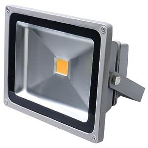 Auralum¨ 50W IP65 LED Projecteur Lumire IP65 Blanc chaud 2800-3200K 5400Lumen