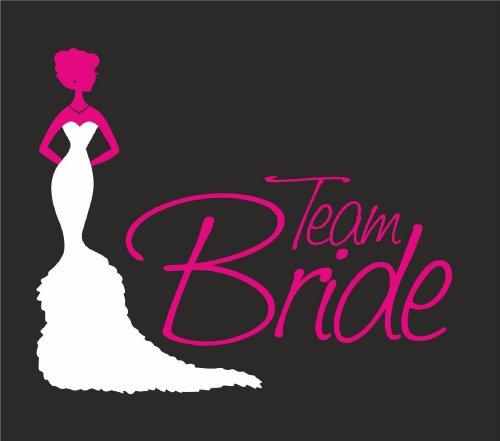 Team Nero Festeggiamenti Shirt T Bride DONNA RAGAZZA immagine wFwpqRx1Xg