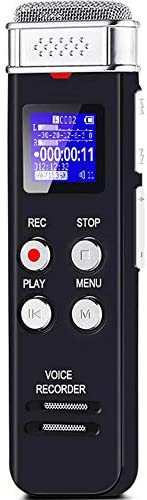 8GB Digital Voice Recorder Voice Activated Recorder with Pla
