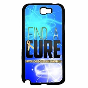 Find a Cure Support Cancer Awareness Plastic Phone Case Back For Case Iphone 5/5S Cover