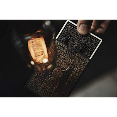Bitcoin Playing Cards Black / Gold Luxury Deck: Toys & Games