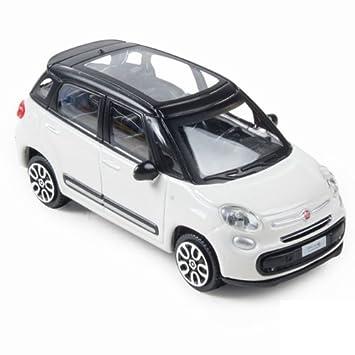 Échelle Véhicule Fiat Bburago Miniature Aléatoire 124Coloris 431822126 500l yYb76gf