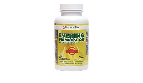 Aceite de Onagra - Tamaño - 120 Perlas: Amazon.es: Salud y cuidado personal