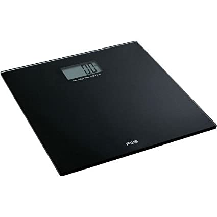 Exceptionnel AMERICAN WEIGH SCALES Talking Bathroom Scale, Black