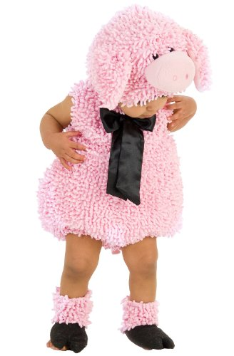 Princess Paradise Baby Girls' Premium Squiggly Piggy, Pink, 6-12 Months (Infant Pig Costume)