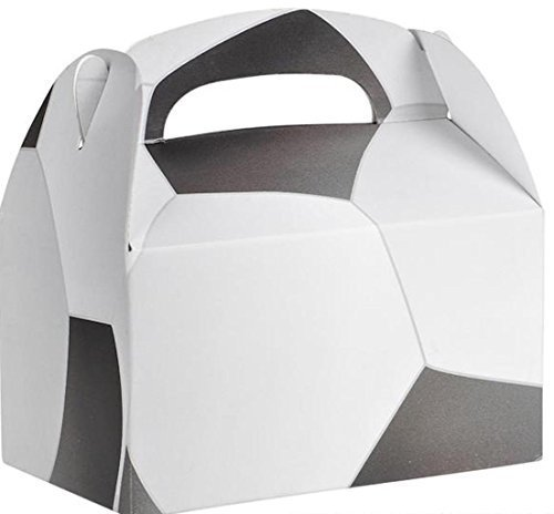 Birthday Party Soccer Treat Box Favor Boxes Favors (Soccer Birthday Theme)