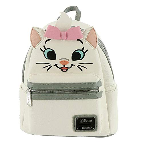 Loungefly Marie Aristocat Mini Backpack White-Pink]()