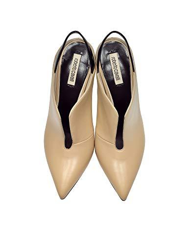 Roberto Beige À Talons Hks411uc172d0118 Cavalli Femme Cuir Chaussures rPvtrAwq