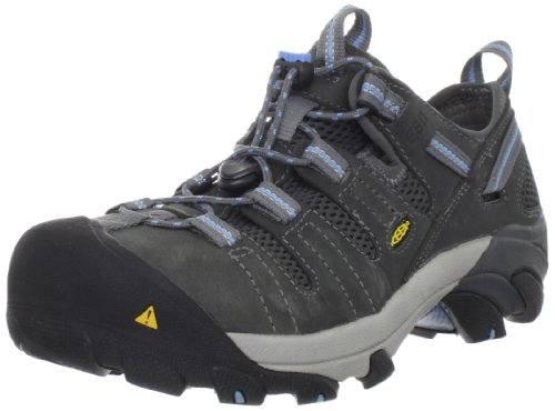 KEEN Utility Women's Atlanta Cool ESD Steel Toe Work Shoe,Gargoyle,7 M US