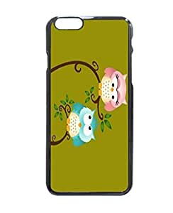 """Home Decor Customized Machine-washable Love Owl Couple Unique Printed Hard Customized Case Cover , iPhone 6 Plus (5.5"""") Case Cover, Protection Quique Cover, Perfect fit, Show your own personalized phone Case for iPhone 6 Plus - 5.5 inches by supermalls"""