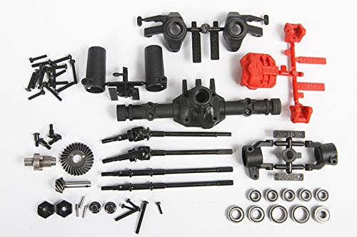 Axial AX31438 AR44 High-Pinion Front Axle or Rear Locked Axle Complete Parts Set (53-Pieces) - Fits SCX10 II