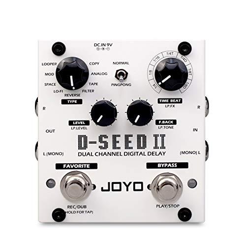 Joyo D-Seed II Multi-Delay and Looper