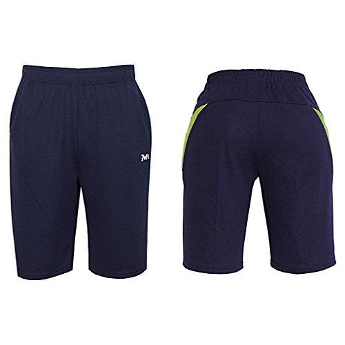 Uomo Per Myglory77mall Lime Atleti Sportivi Pantaloncini XkuOPiZ