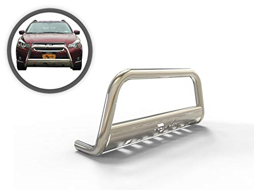 Vanguard VGUBG-1212-1331SS Stainless Steel Classic Bull Bar Compatible with 16-19 Subaru Crosstrek