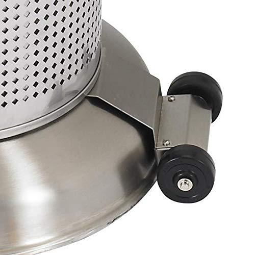 Sunglo Patio Heater Wheel Kit - Black - 10295-5 by Sun-Glo