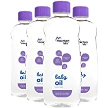 Mountain Falls Baby Oil, Lavender, Compare to Johnson's, 14 Fluid Ounce (Pack...